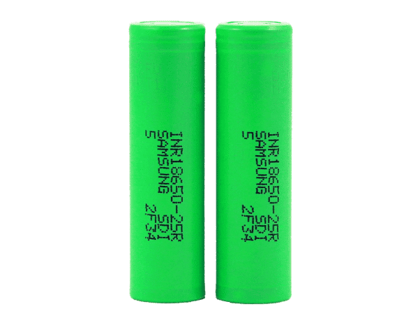 Samsung - 25r - 18650 Battery (2 pack)