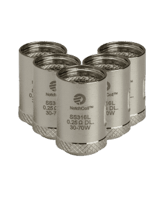 Cuboid NotchCoil 0.25ohm (5 Pack)